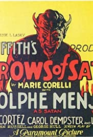 The Sorrows of Satan Poster