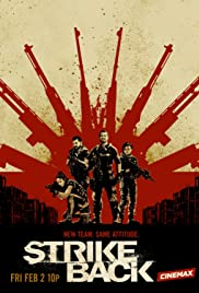 View Strike Back - Season 4 (2013) TV Series poster on Ganool