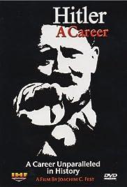 Hitler: A career Poster
