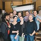 Jaume Bayarri, Juanjo Company, Toni Climent, Ana Llorca, Fran Moral, Alberto Cabanes, and Neli Langa in El somni de la seua vida (2017)