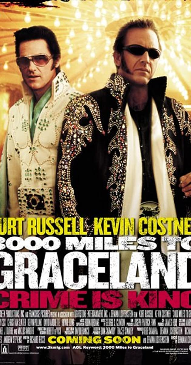 3000 Miles to Graceland (2001) Subtitles
