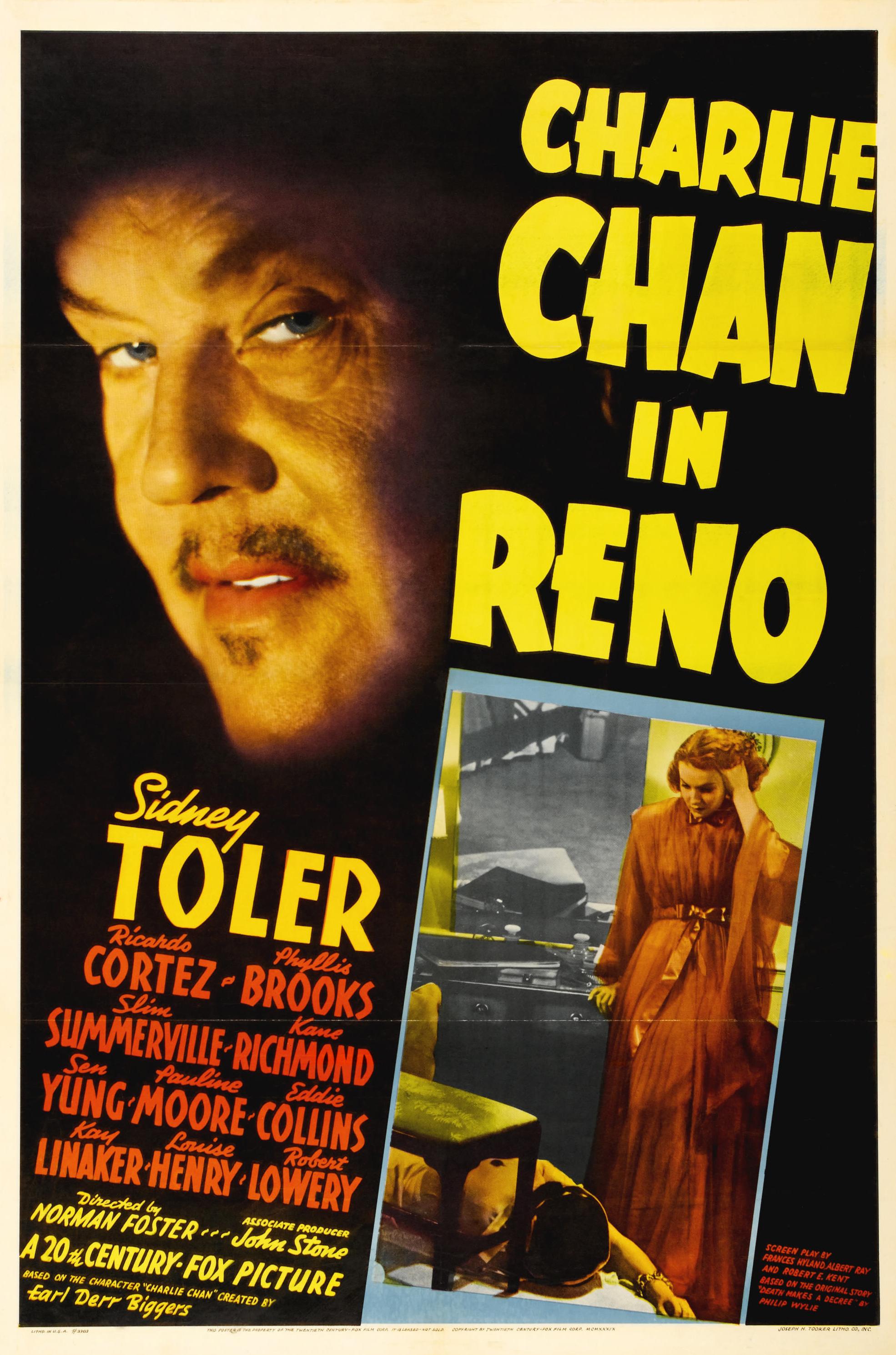Charlie Chan in Reno (1939) - IMDb