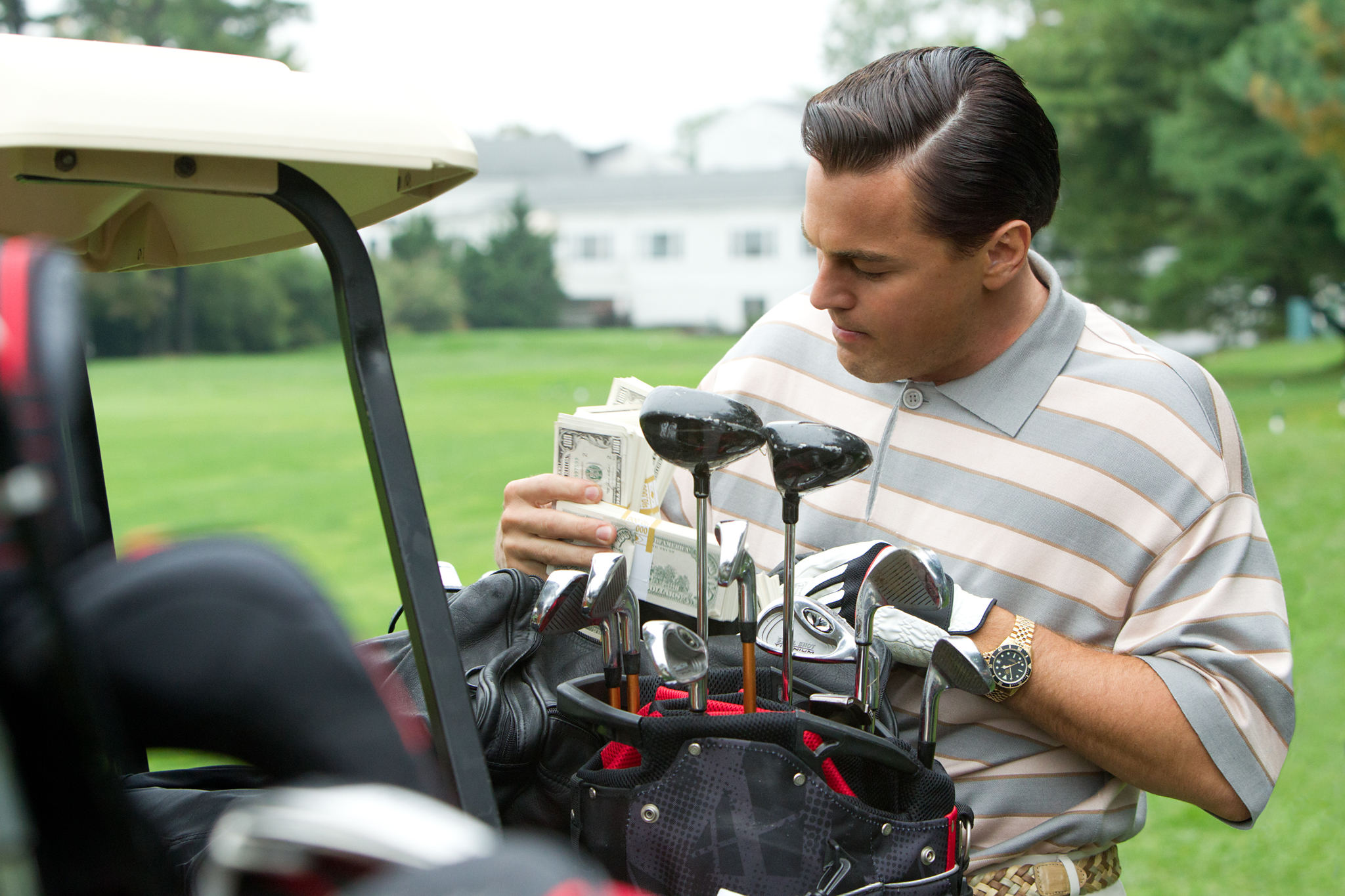 Leonardo DiCaprio in The Wolf of Wall Street (2013)