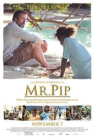 Hugh Laurie, Eka Darville, and Xzannjah Matsi in Mr. Pip (2012)