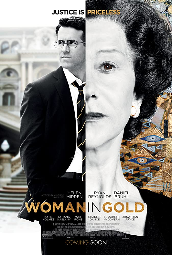 Helen Mirren and Ryan Reynolds in Woman in Gold (2015)