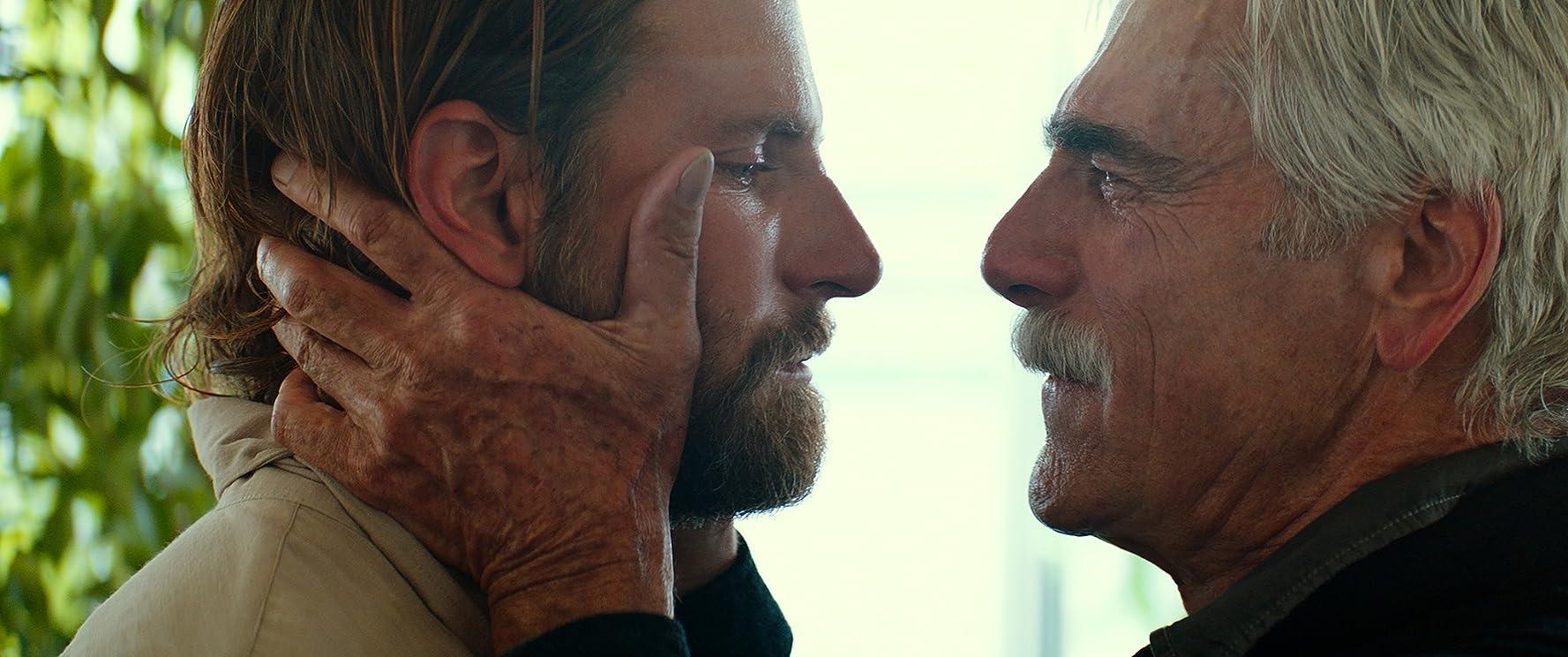 Sam Elliott and Bradley Cooper in A Star Is Born (2018)