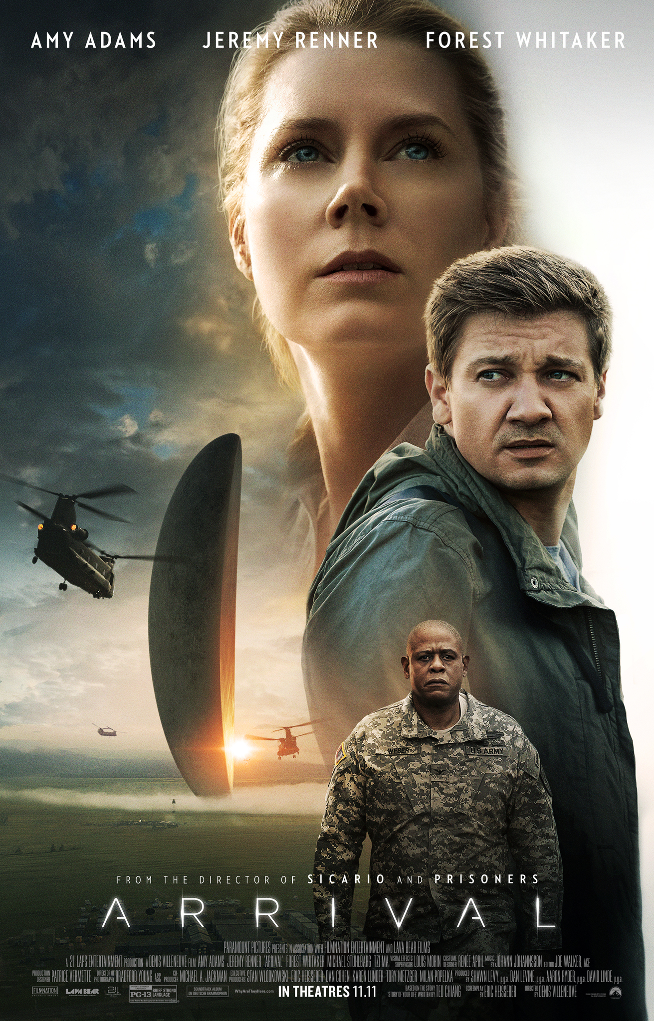 Image result for arrival movie poster""