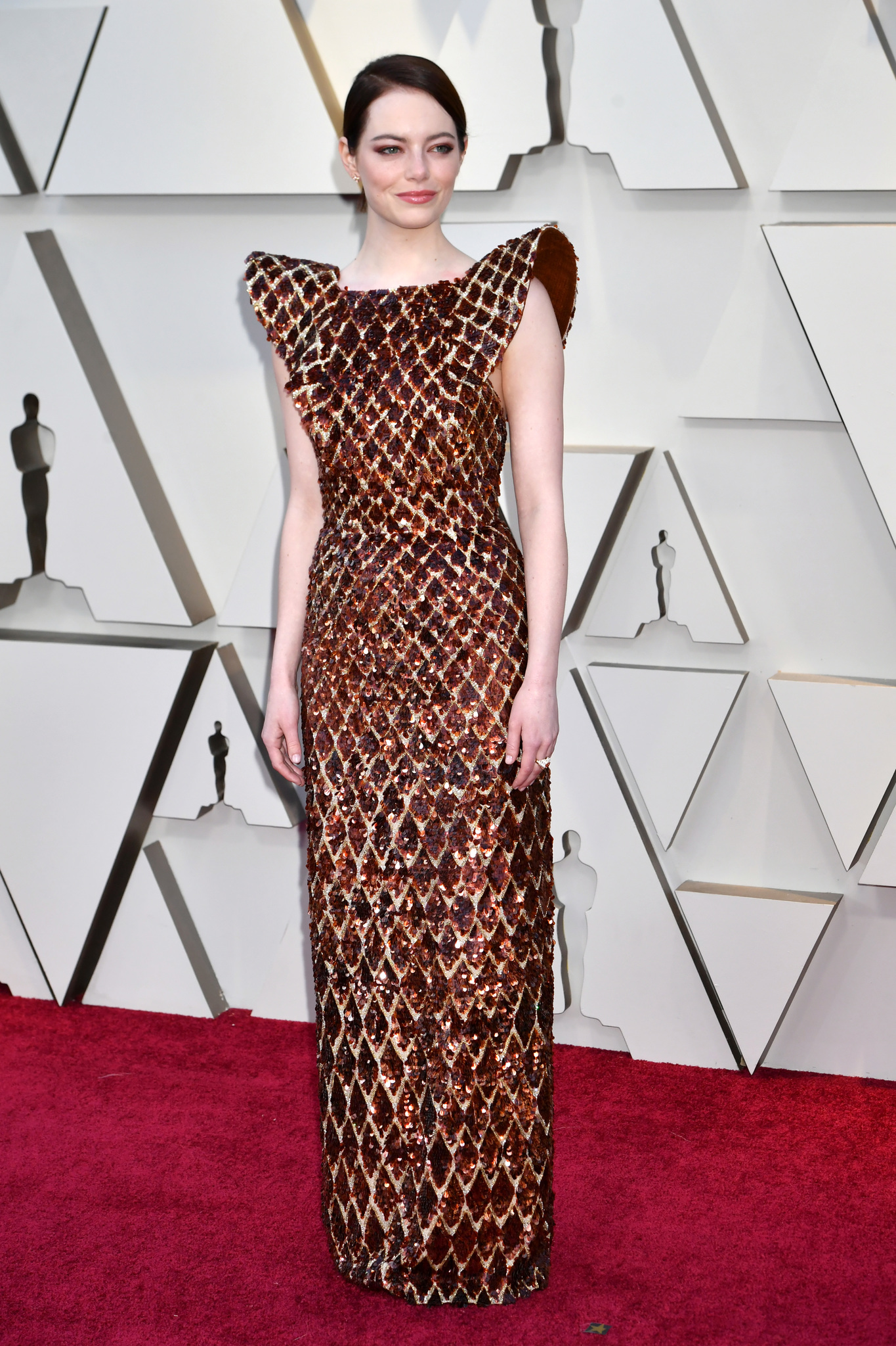 Emma Stone at an event for The Oscars (2019)
