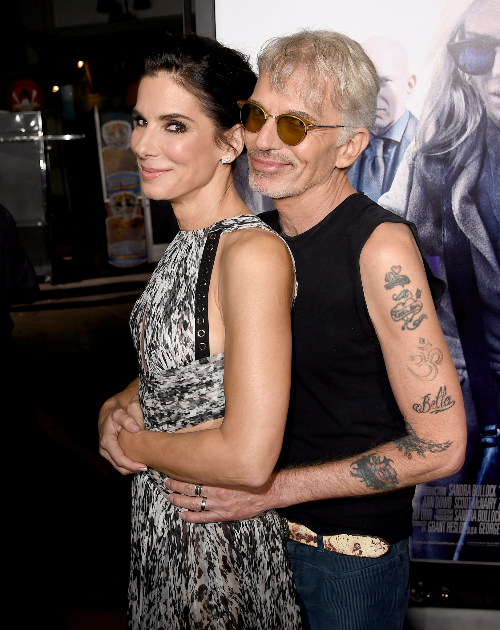 Sandra Bullock and Billy Bob Thornton at an event for Our Brand Is Crisis (2015)