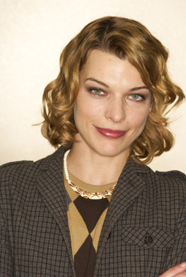 Milla Jovovich at an event for Dummy (2002)