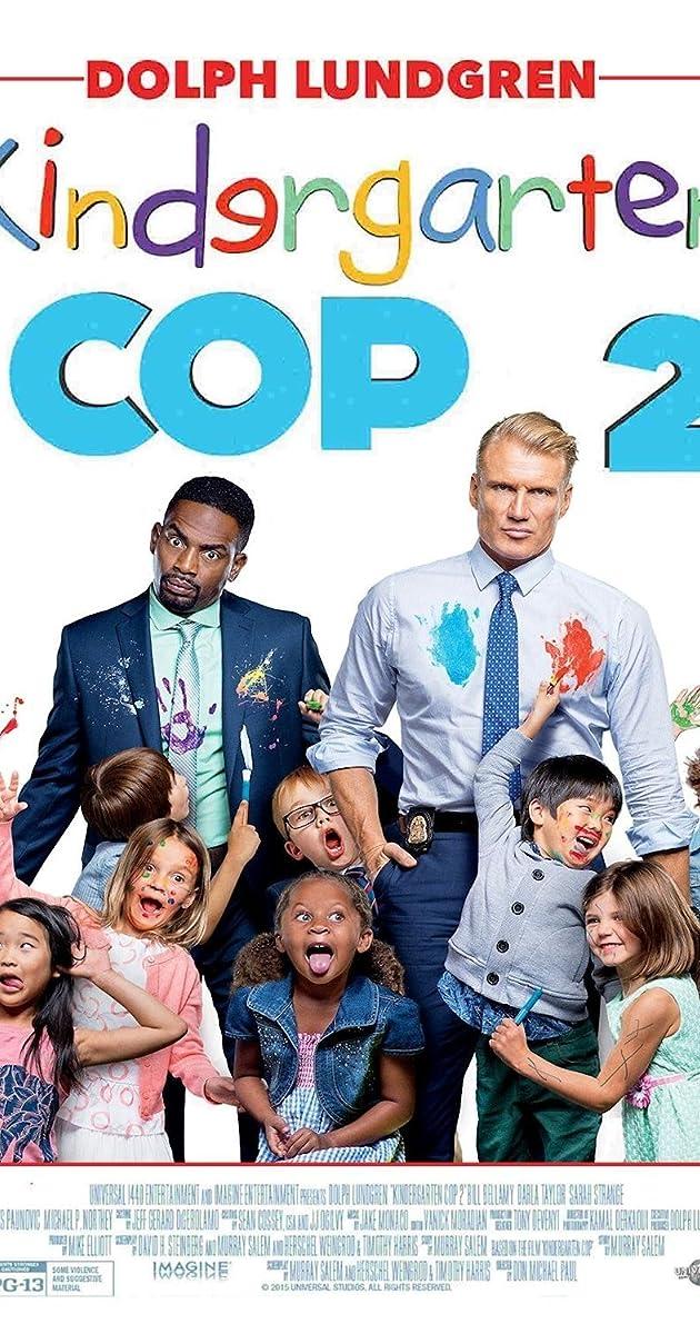 Vaikų darželio policininkas 2 / Kindergarten Cop 2 (2016) Online
