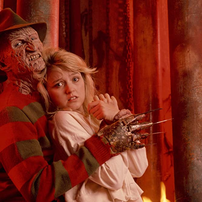 Robert Englund and Tuesday Knight in A Nightmare on Elm Street 4: The Dream Master (1988)