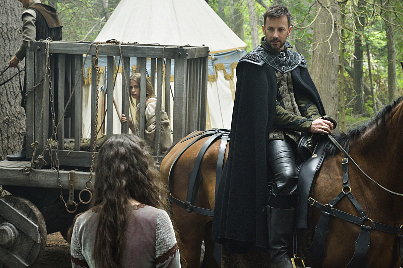 Craig Parker, Anna Popplewell, and Camille Stopps in Reign (2013)