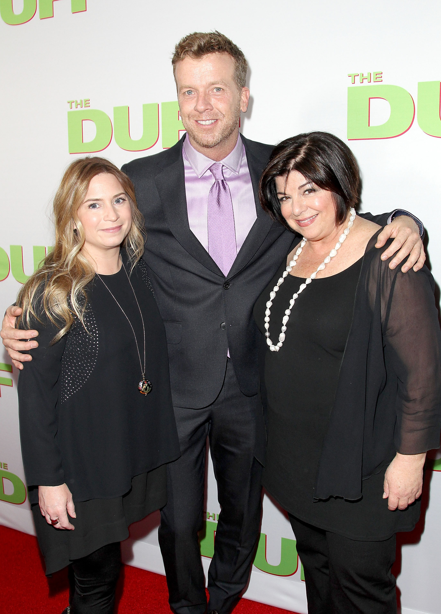 Susan Cartsonis, McG, and Mary Viola at an event for The Duff (2015)