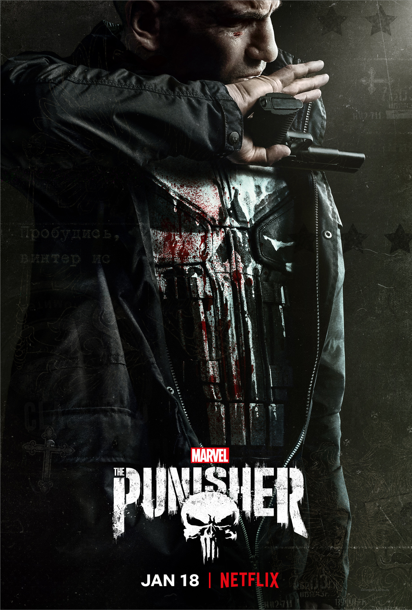 The Punisher Series Wallpaper Hd