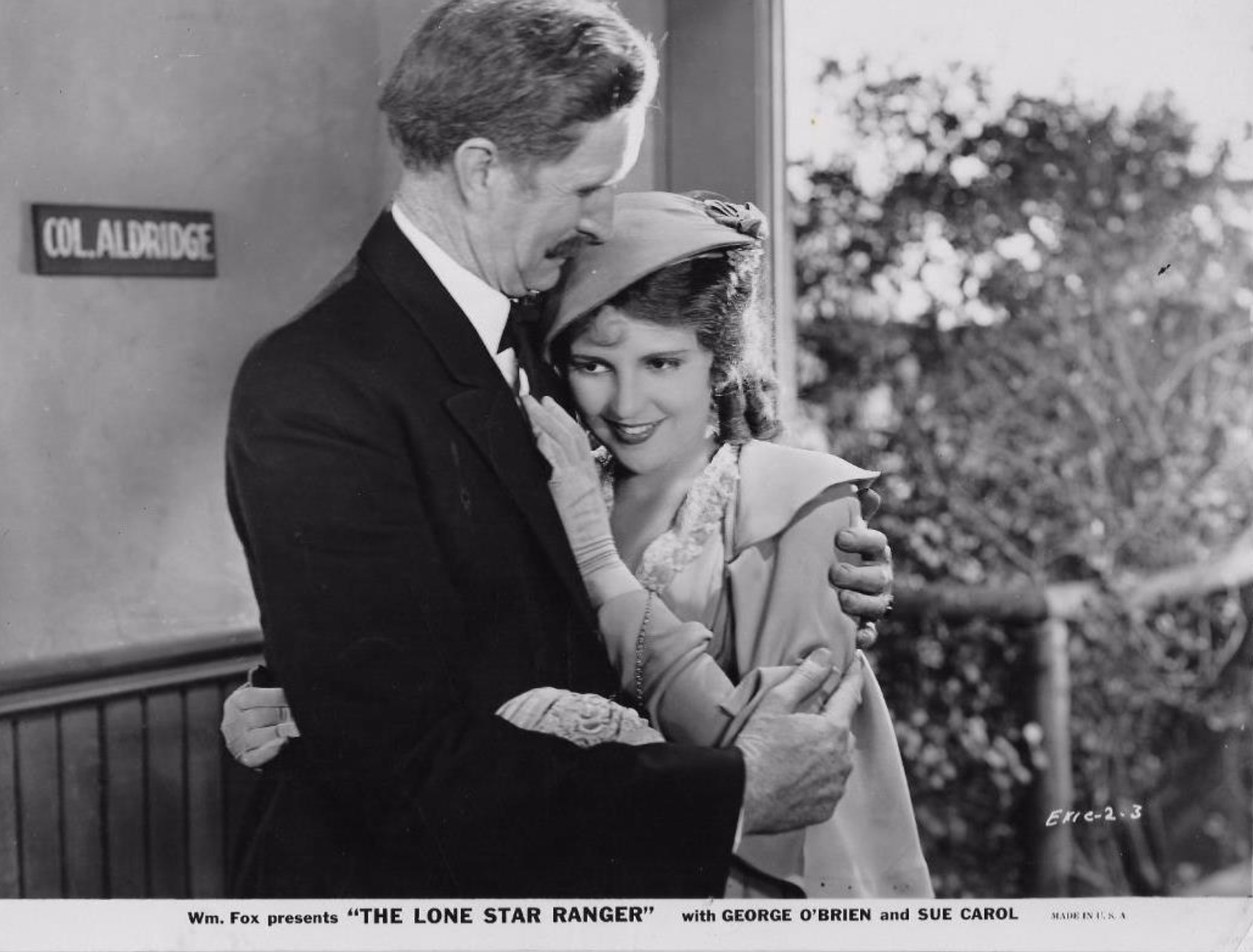 Sue Carol and Russell Simpson in The Lone Star Ranger (1930)
