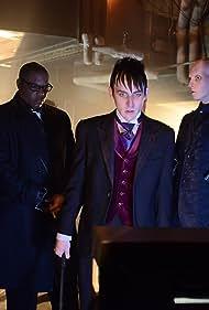 Alex Corrado, Robin Lord Taylor, and Anthony Carrigan in Gotham (2014)