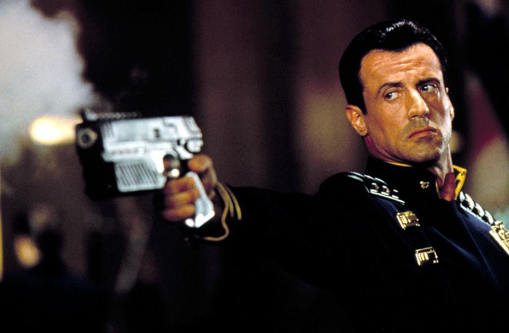 Sylvester Stallone in Judge Dredd (1995)