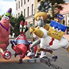Clancy Brown, Rodger Bumpass, Bill Fagerbakke, and Tom Kenny in The SpongeBob Movie: Sponge Out of Water (2015)