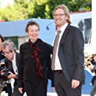 Laurie Anderson and Dan Janvey at an event for Heart of a Dog (2015)
