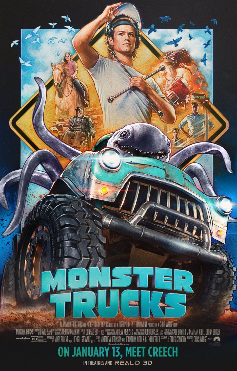 Monster Trucks (2016) - IMDb