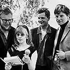 Börje Ahlstedt, Magnus Nilsson, Lena Nyman, and Vilgot Sjöman in Jag är nyfiken - en film i gult (1967)
