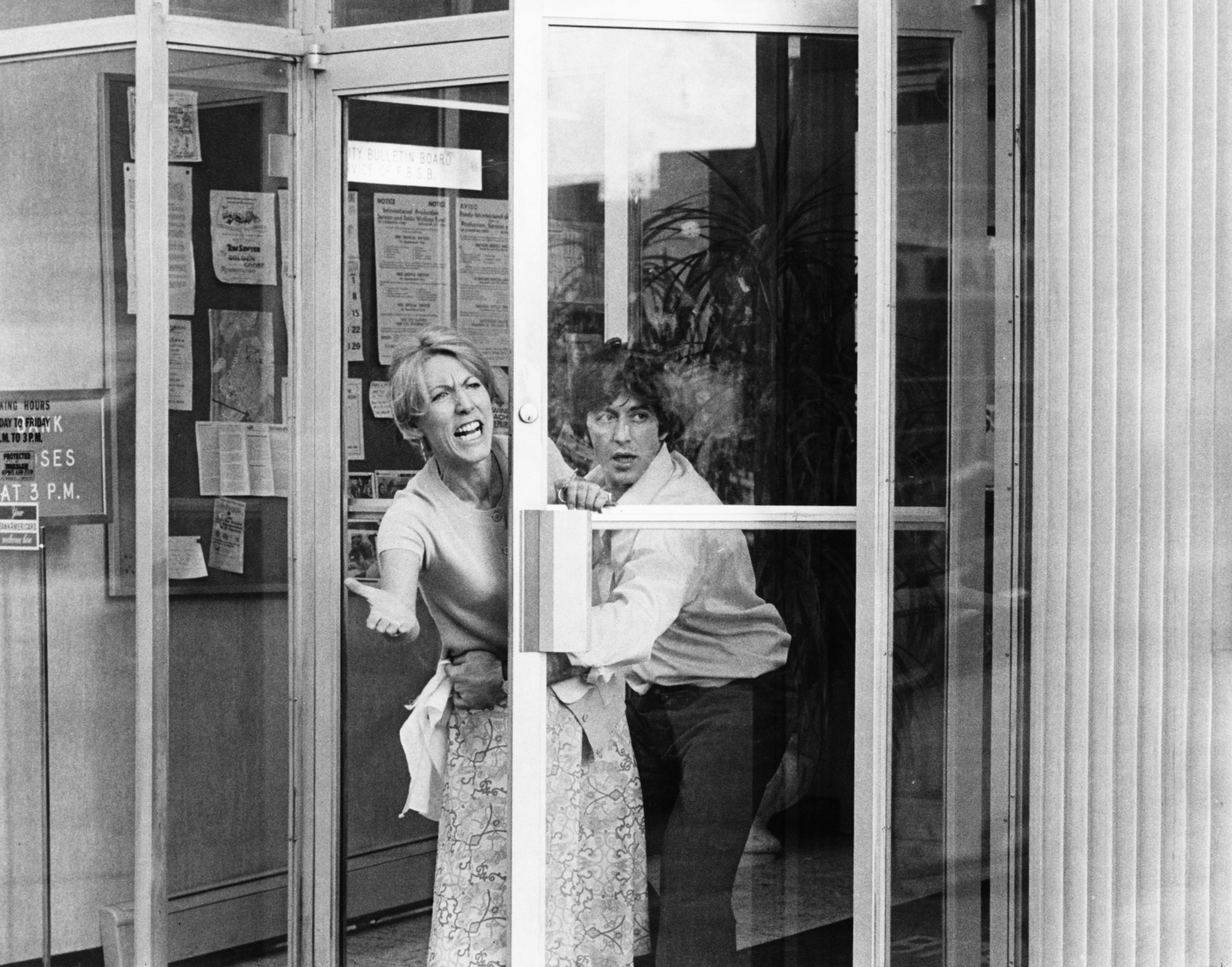 Al Pacino and Penelope Allen in Dog Day Afternoon (1975)