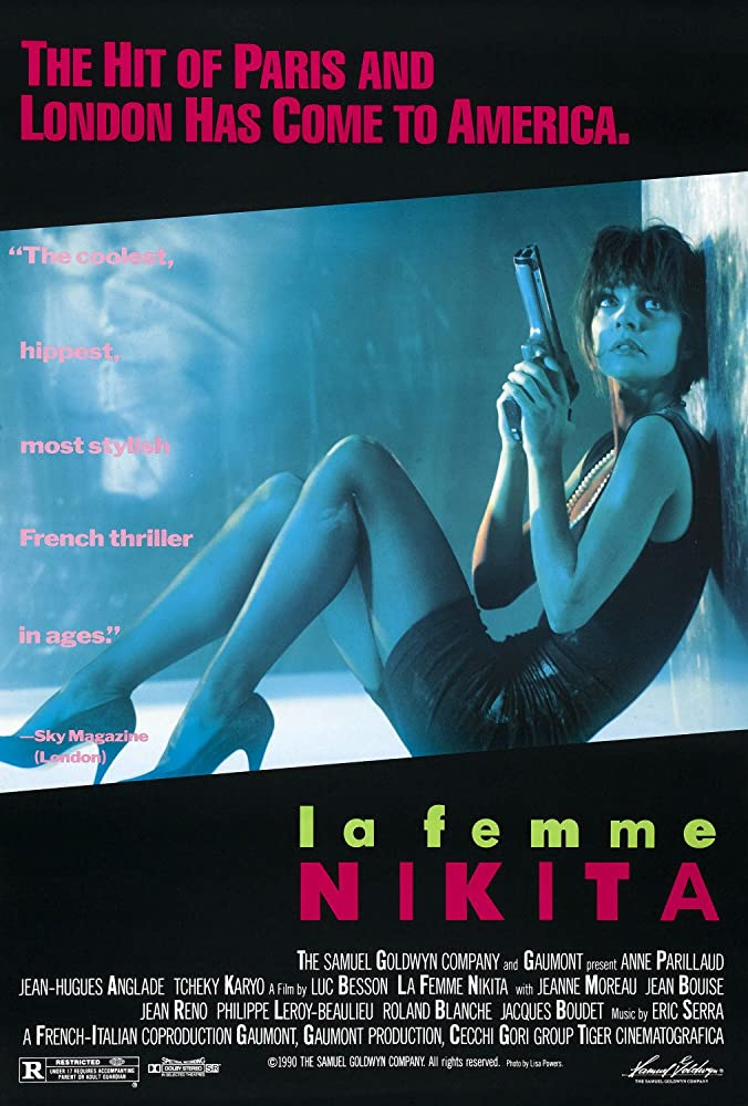 Anne Parillaud in Nikita (1990)