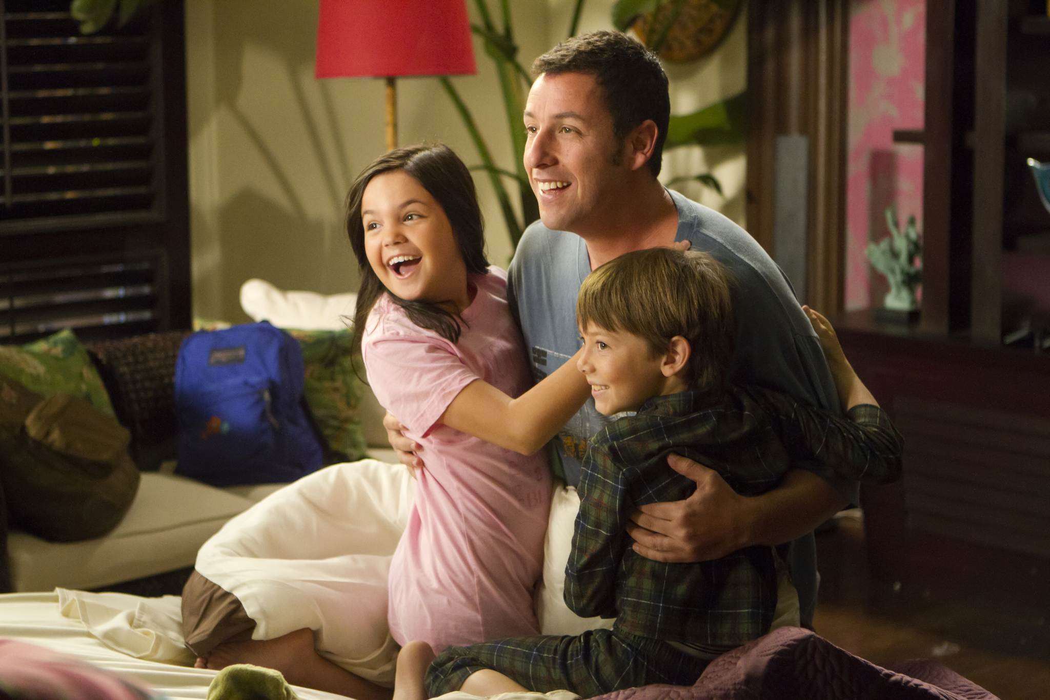 Adam Sandler, Bailee Madison, and Griffin Gluck in Just Go with It (2011)