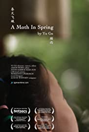 A Moth in Spring Poster