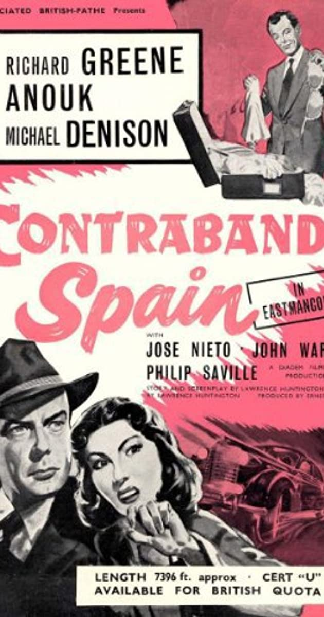 Contraband Spain (1958) Subtitles