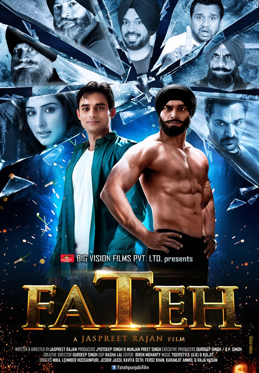 Fateh (2014) Punjabi Movie 720p WEBRip 1.4GB ESubs Free Download