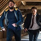 William Houston and Josh Bowman in Level Up (2016)