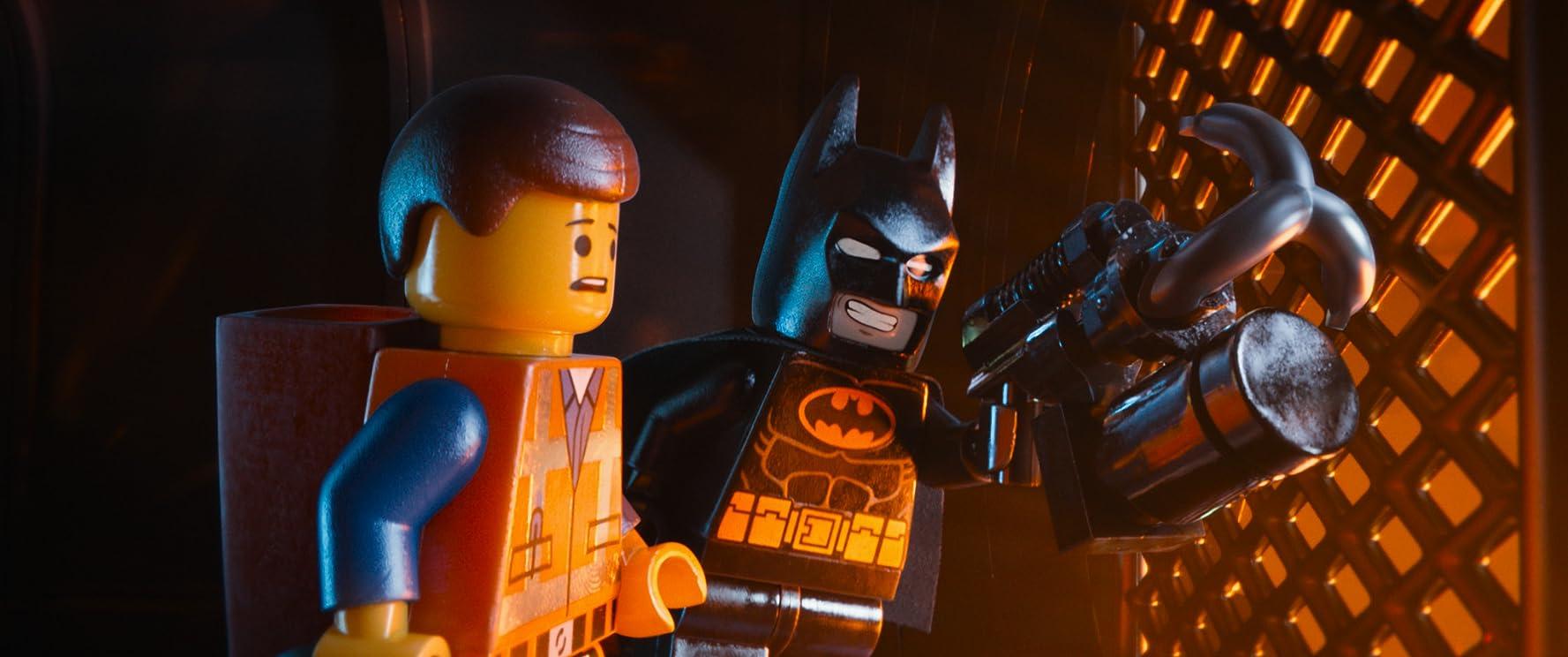 Will Arnett and Chris Pratt in The Lego Movie (2014)