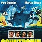 Kirk Douglas, Martin Sheen, Katharine Ross, and James Farentino in The Final Countdown (1980)