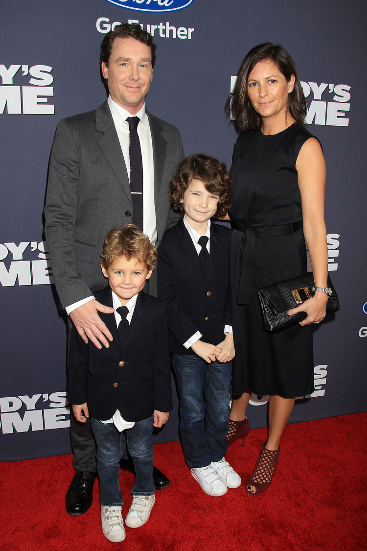 """Brian Burns and family at """"Daddy's Home"""" Premiere"""