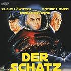 Anthony Quinn, Ernest Borgnine, and Klaus Löwitsch in L'isola del tesoro (1987)