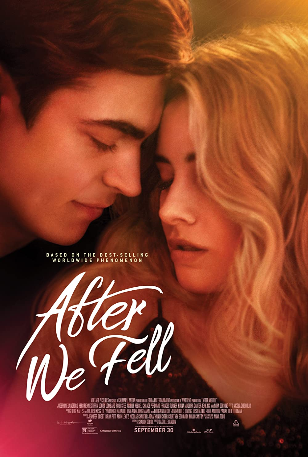 Download 18+ After We Fell 2021 English 480p AMZN HDRip 300MB