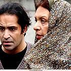 Roya Taymourian and Afshin Hashemi in Barf (2014)