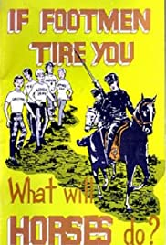 If Footmen Tire You What Will Horses Do? Poster