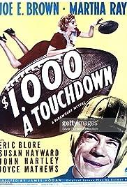 $1000 a Touchdown (1939) starring Joe E. Brown on DVD on DVD