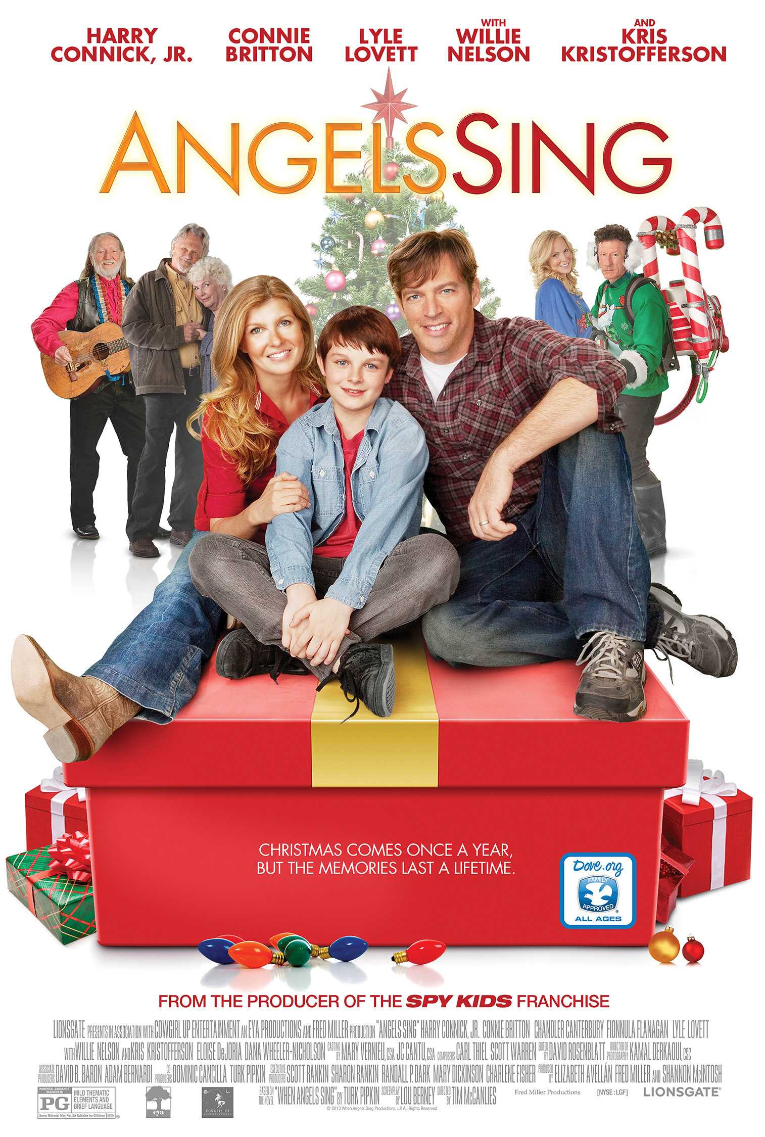 angels sing 2013 imdb - Christmas Movies 2013
