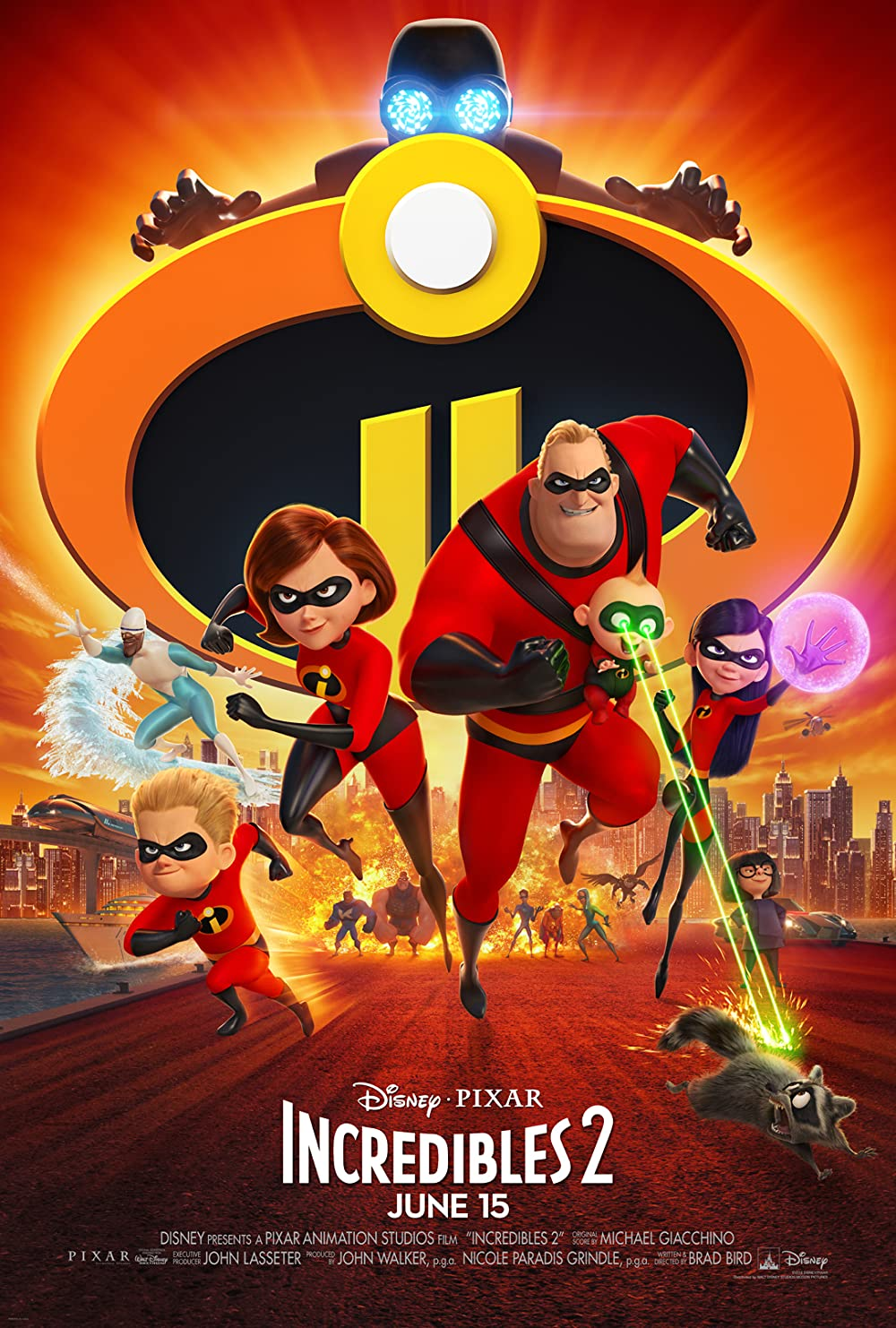 Incredibles 2 2018 Dual Audio Hindi 450MB BluRay ESub Download