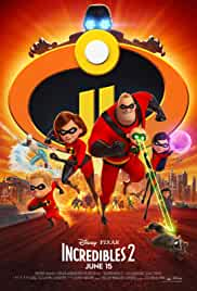 Incredibles 2 | 300mb | HDrip | 480p | English + HIndi