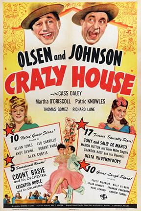 Edward F. Cline Crazy House Movie
