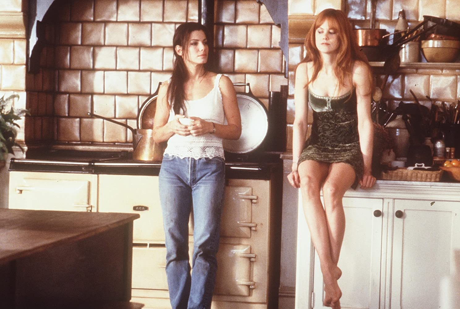 Sandra Bullock and Nicole Kidman in Practical Magic (1998)