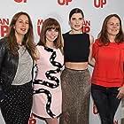 Nira Park, Lake Bell, Ophelia Lovibond, and Tess Morris at an event for Man Up (2015)