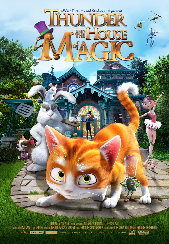 ดูหนังออนไลน์ The House of Magic (2013)
