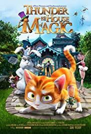 Thunder and the House of Magic Poster