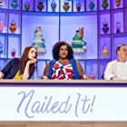 Felicia Day, Jacques Torres, and Nicole Byer in Nailed It! Holiday! (2018)